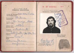 O Passaporte Vermelho, concedido aos funcionários do governo Allende, serviu para fugir do Chile